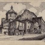 Il complesso di San Lorenzo nel 1935