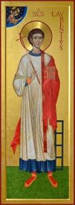 Icona di San Lorenzo Martire di Antonella Formenti