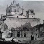 Foto della facciata della basilica prima del 1894.