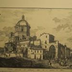 Il complesso di San Lorenzo attorno al 1790