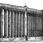 Le colonne nel 1858