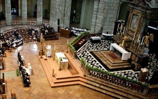 Messa in San Lorenzo Maggiore Milano