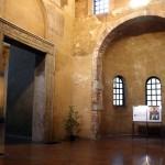 L'atrio della Cappella di Sant'Aquilino