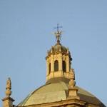La cupola della basilica oggi