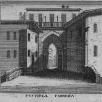 Particolari di porta Ticinese.
